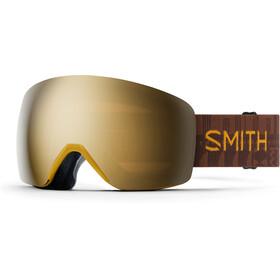 Smith Skyline Snow Goggles, Dorado/marrón